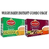 WAGH BAKRI INSTANT TEA PREMIX ELAICHI & MASALA COMBO PACK