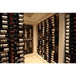 WS3 Platinum Series 18 Bottle Wall Mounted Wine Rack