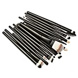 Mefeir 20pcs/Set Makeup Brush Set Tools Make Up Toiletry Kit Wool Make Up Brush Set