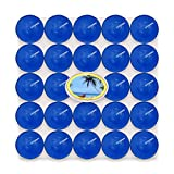 AROMA Coloured Tealight Pack Of 50 Blueberry