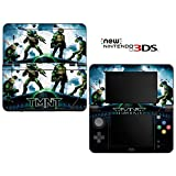 Teenage Mutant Ninja Turtles TMNT Decorative Video Game Decal Cover Skin Protector for New Nintendo 3DS (2015 Edition)