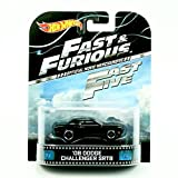 '08 DODGE CHALLENGER SRT8 * FAST & FURIOUS / FAST FIVE * Hot Wheels 2013 Retro Series Die Cast Vehicle