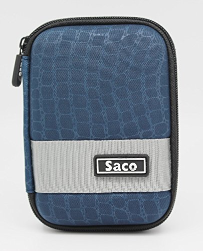 Saco External Hardisk Hard Case For Seagate Expansion 1TB Portable External Hard Drive - Dark Blue