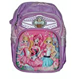 Wise Guys Embossed 3D Print School Bag For Kids - Princess 3