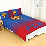 FC Barcelona Fade Double Duvet Cover and Pillowcase Set