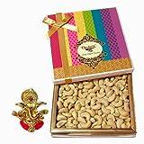 Chocholik Amazing Treat Of Cashews, 400 Gm With Ganesha Idol - Chocholik Dry Fruits