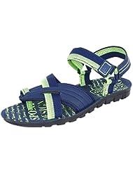 Bersache Men's Blue-905 Sandal & Floaters