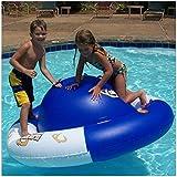 Aviva Pool Toys, Pool Floats, Saturn Rocker Inflatable Swimming Pool Kids Float Climber Toy