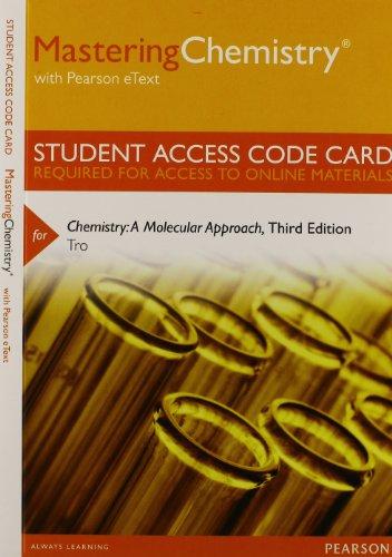 Chemistry A Molecular Approach 3rd Edition Pdf