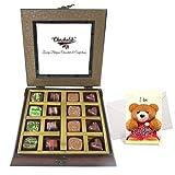 Titillating Collection Of Beautiful Chocolates With Sorry Card - Chocholik Belgium Chocolates