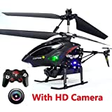 Toys Bhoomi 3.5-Channel RC Helicopter Infrared Remote Control Helicopter With 130w HD Video Camera & Lights