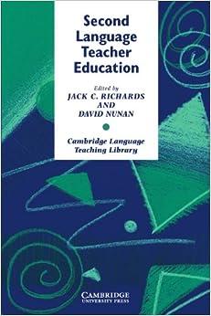 Amazon.com: Second Language Teacher Education (Cambridge