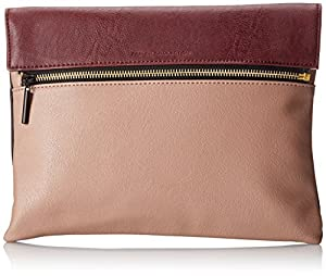 French Connection Celestial Clutch,Blush Multi,One Size