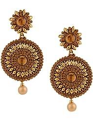 Kundan Kundans Earrings Traditional Polki Ethnic Jewellery SetsOREA0340GO
