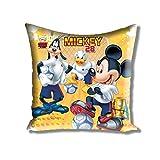 Disney Athom Trendz Cushion Cover- Mickey - 40cmx40cm