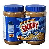 SKIPPY スキッピー  ピーナッツ バター チャンキー (粒入り) 2.72kg(1.36kgx2本)