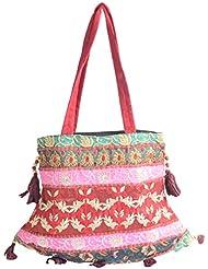 Holi Fashion Women's Sling Bag (Multi Coloured)