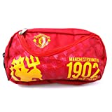 Manchester United Foot Ball Club Flap Pencil Pouch, Travelling Pouch, Mobile And Accessories Pouch(1902 Red MU... - B019KJRAYU