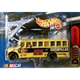 Deluxe Caterpillar School Bus Series From Hot Wheels Racing 1:64 Scale Die Cast 2 In A Series Of 4