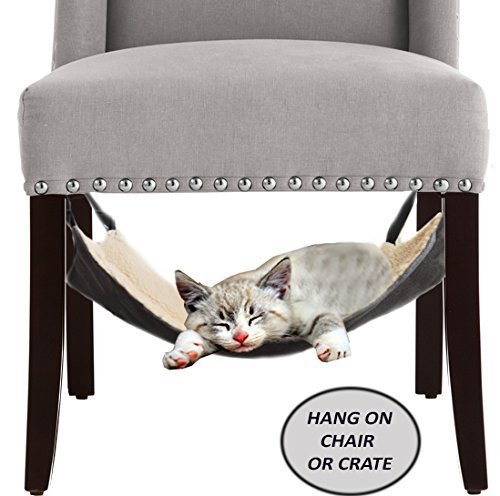 Cat Hammock Bed - City Kitty - Hanging Soft Pet Bed
