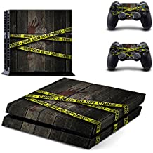 Elton Crime Scene Do Not Cross Theme 3M Skin Decal Sticker For PS4 Console Controller