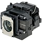 Mogobe ELPLP57 Compatible Projector Lamp With Housing For V13H010L57 EPSON BrightLink 450Wi 455Wi EPSON PowerLite 450W 460 EPSON EB-440W 450W 450Wi 455Wi 460 460i 465i H318A H343A