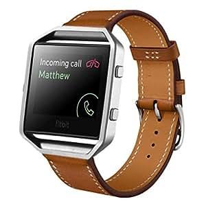 Amazon.com: Fitbit Blaze Accessory Band, HP95(TM) Luxury