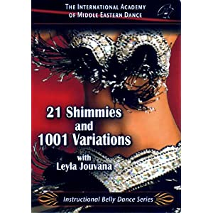 Learn 21 Shimmies and 1001 Variations Belly Dance Instruction