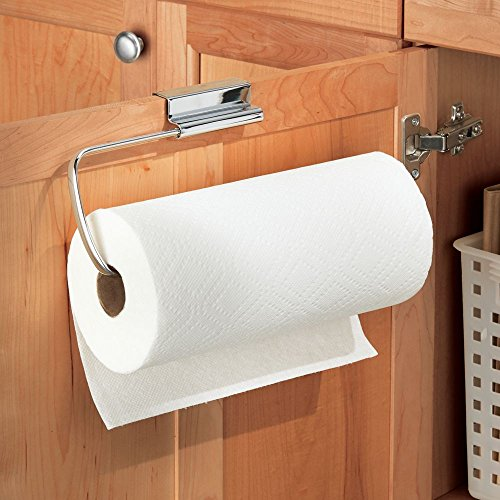 over the cabinet paper towel holder interdesign axis the cabinet paper towel holder 24190