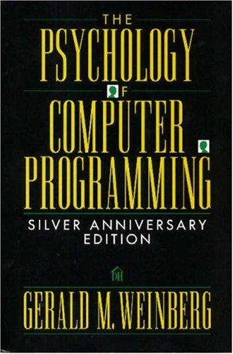 Google books uk descarga Psychology of computer programming