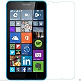 QWERTY 2.5D Curved Edge, 9H Hardness, Ultra Thin Tempered Glass Screen Protector For Microsoft Lumia 640 XL LTE...