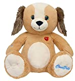 CloudPets 12in Talking Puppy - The Adorable, Huggable Pet to Keep in Touch Through the Cloud, Recordable Stuffed Animal