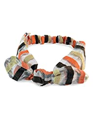 Striped Multi-Colour Hair Band For Women::Girls By Sarah