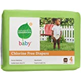 Seventh Generation Chlorine Free Baby Diapers Stage 4 (22-37 Lbs.) 30 Count (Pack Of 4)