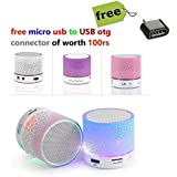 Portable Mini USB Bluetooth Speaker Compact Stereo Uiniversal Wireless Audio Music Loud Speakers BLUTECH Surpport...