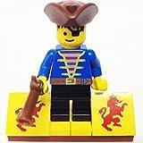 MinifigurePacks: Lego Pirates Bundle (1) PIRATE W/Brown Tricorne Hat (1) FIGURE DISPLAY BASE (1) FIGURE ACCESSORY