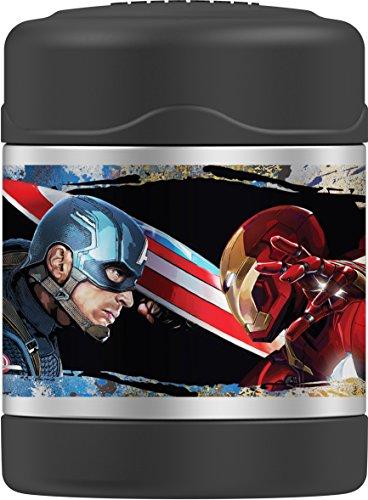 Thermos Captain America Civil War 10 Ounce Funtainer Jar