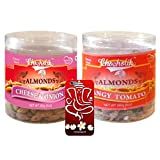 Chocholik Dry Fruits - Almonds Cheese Onion & Tangy Tomato With 3d Mobile Cover For IPhone 6 - Diwali Gifts -...