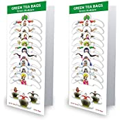 99 Tea Plain Tea Green Tea (10 Sachets, Pouch) - B01IZ721E2