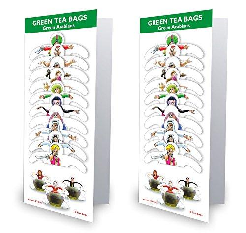 99 Tea Plain Tea Green Tea (10 Sachets, Pouch) - B01IZ721E2