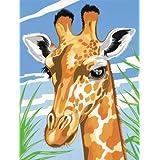 Reeves Giraffe Acrylic Painting Set By Numbers, Medium