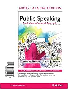 Public Speaking: An Audience-Centered Approach, Books a la ...