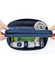 Shopaholic Travel Toiletry Bag Underwear Divided Pouch Makeup Organizer Waterproof Bra Sorting Bag Brand Beautician... - B01KXDQIMC