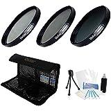 NEW 67mm Digital High-Resolution ND8 Filter Kit For The Olympus E-450 E-620 E-520 E-510 E-500 E-420 E-410 E-400...