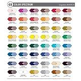 Liquitex BASICS Acrylic Paint Tube 4 oz, 6-Piece Set