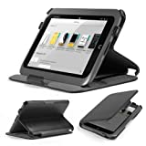 GMYLE Black Ultra Slim Multi Angle Folio Smart Hard Cover Case With Auto Wake Up Sleep Function For Barnes & Noble...