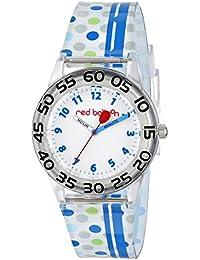 Red Balloon Kids' W001469 Plastic Watch, Plastic Strap, Analog Display, Analog Quartz, Multi-Color Watch