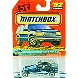 1998 - Mattel - Matchbox - #92 Of 100 Vehicles - Dune Buggy - Mountain Cruisers Edition - Series 19
