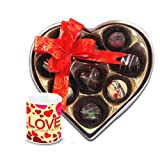 Valentine Chocholik Belgium Chocolates - Coustomized Choco-treats With Love Mug