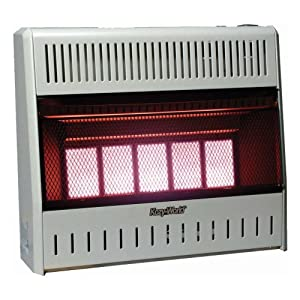 natural gas wall heater kozy world kwn323 30 000 btu vent free 10614